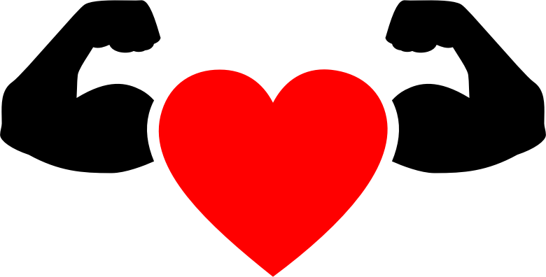 Muscular Heart Icon