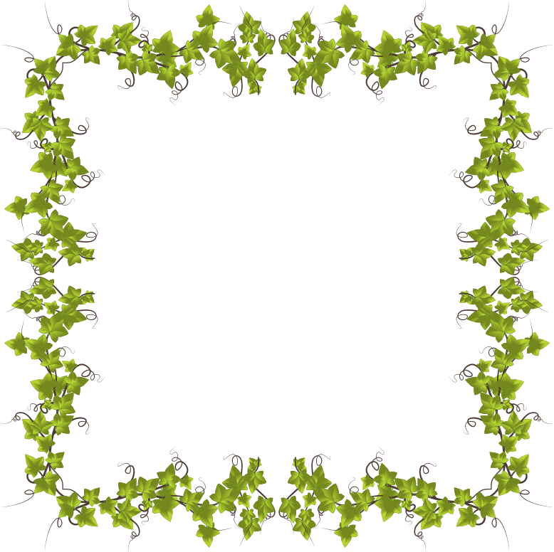 Ivy Leaves Frame 6