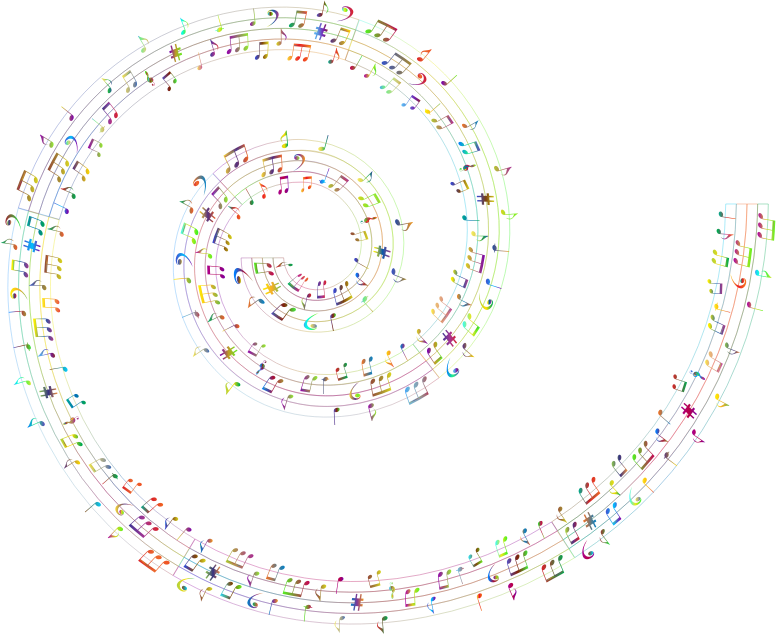 Musical Spiral Polyprismatic No BG