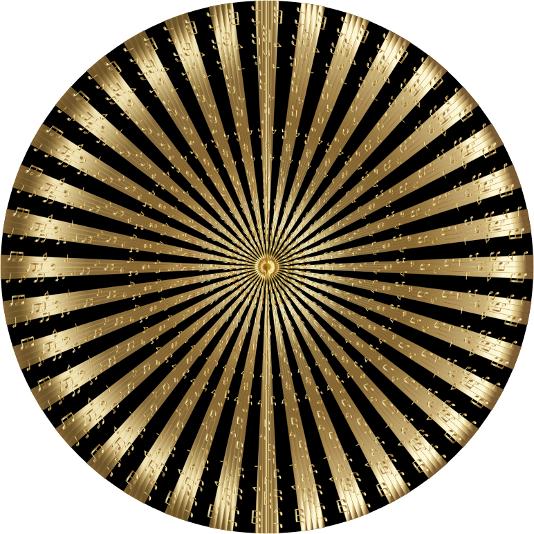 Musical Mandala Gold