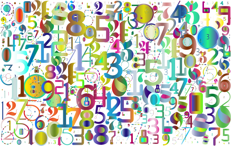 Numbers Polyprismatic No BG