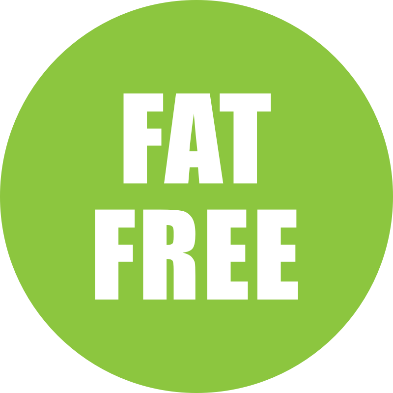 Fat Free Icon Green