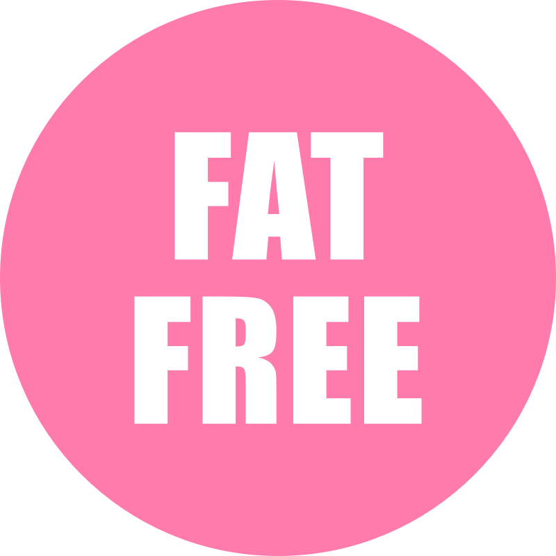 Fat Free Icon Pink