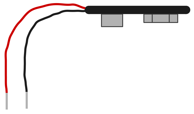 Battery Clip for a 9 V Battery