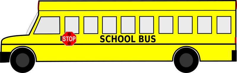 Big School Bus Free Clipart Download Icon - SVG