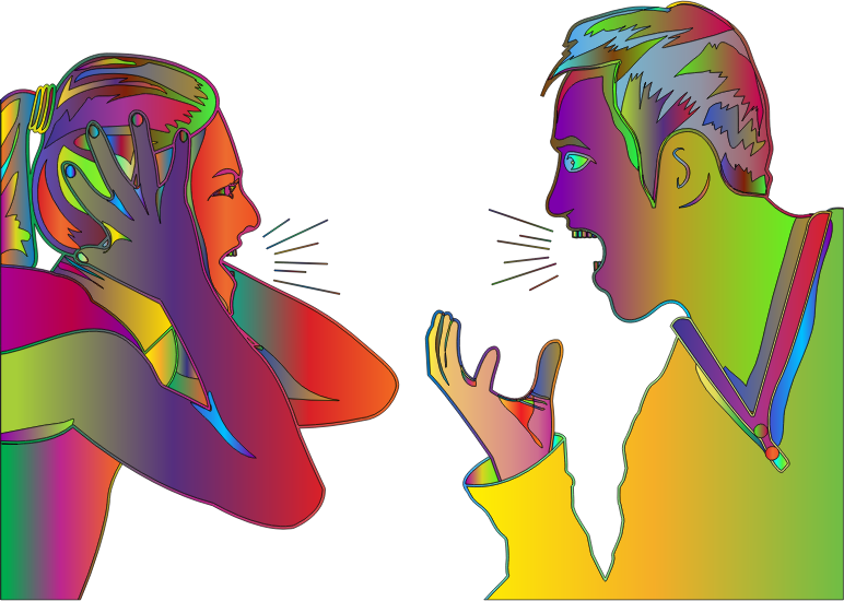 Couple Arguing By mstlion Surreal