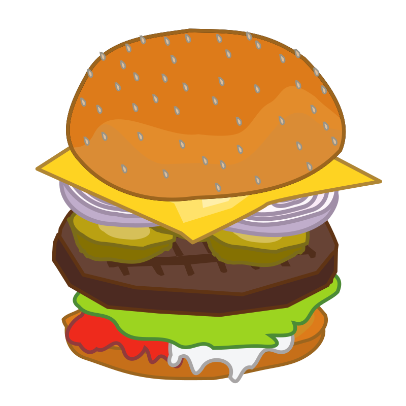 Put Together Hamburger