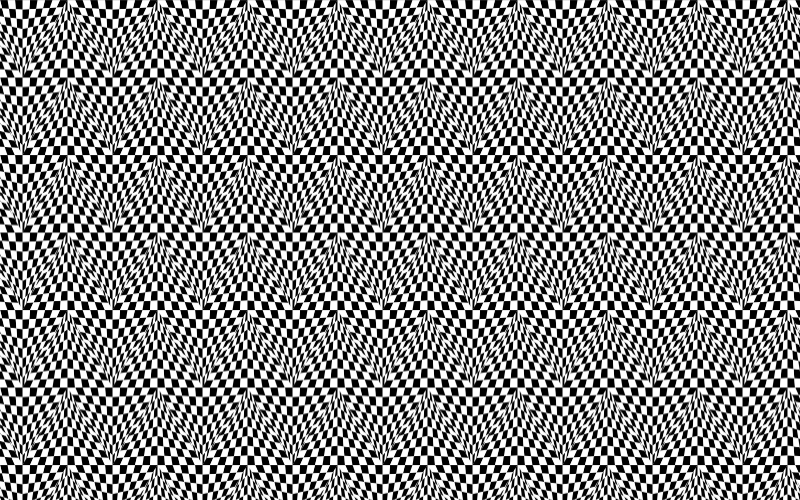 Distorted Checkerboard Pattern