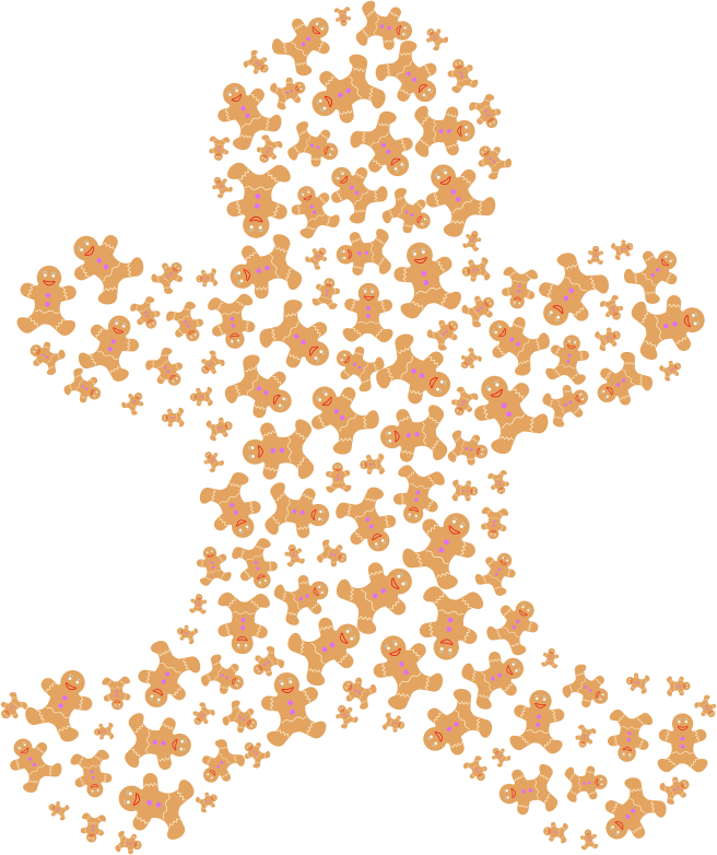 Gingerbread Man Fractal