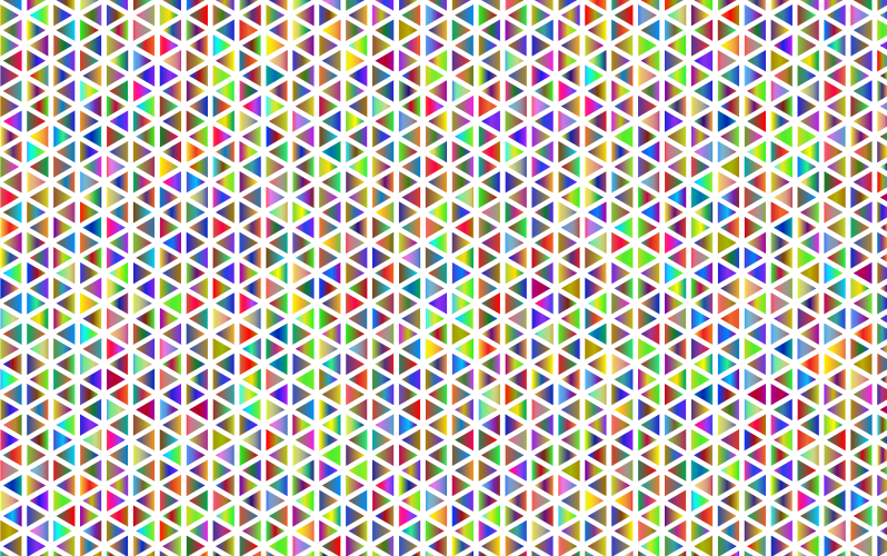 Abstract Polyprismatic Triangular Pattern