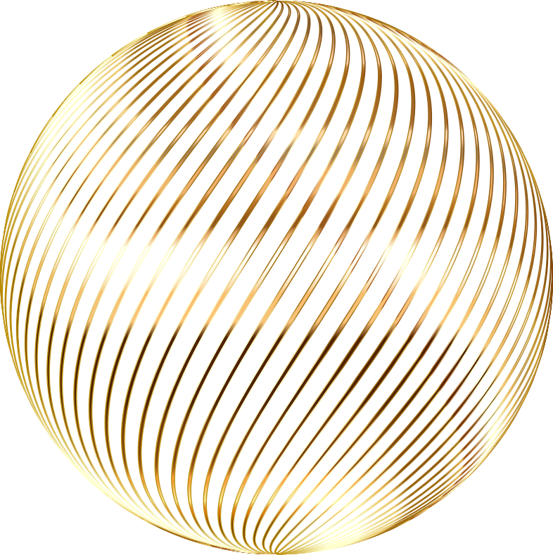Spiral Sphere Gold No BG