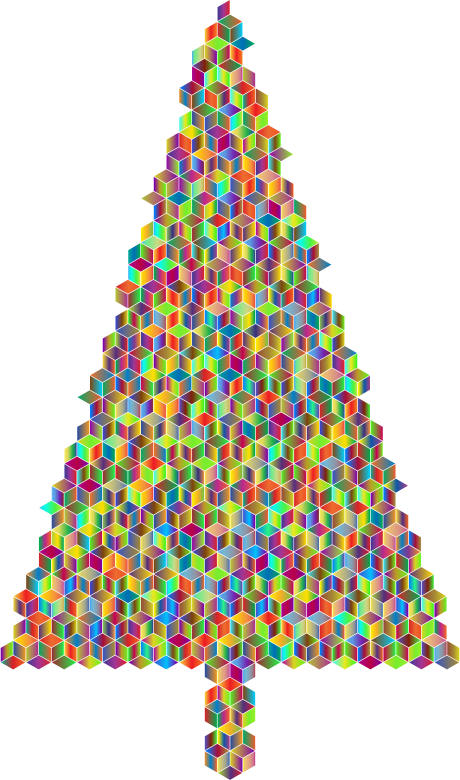 Christmas Tree Cubes Polyprismatic