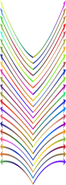 Arrows Design Polyprismatic