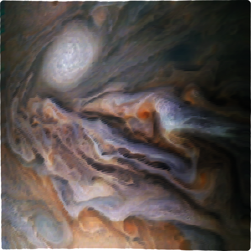Surreal Jupiter