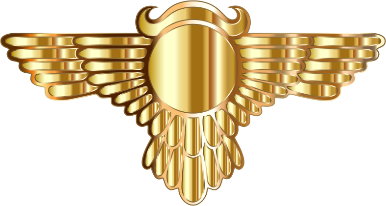 Winged Globe Gold Type III