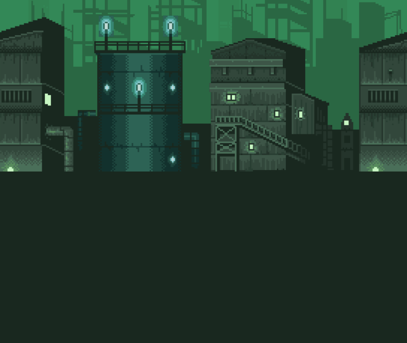 pixel city (animated) 2