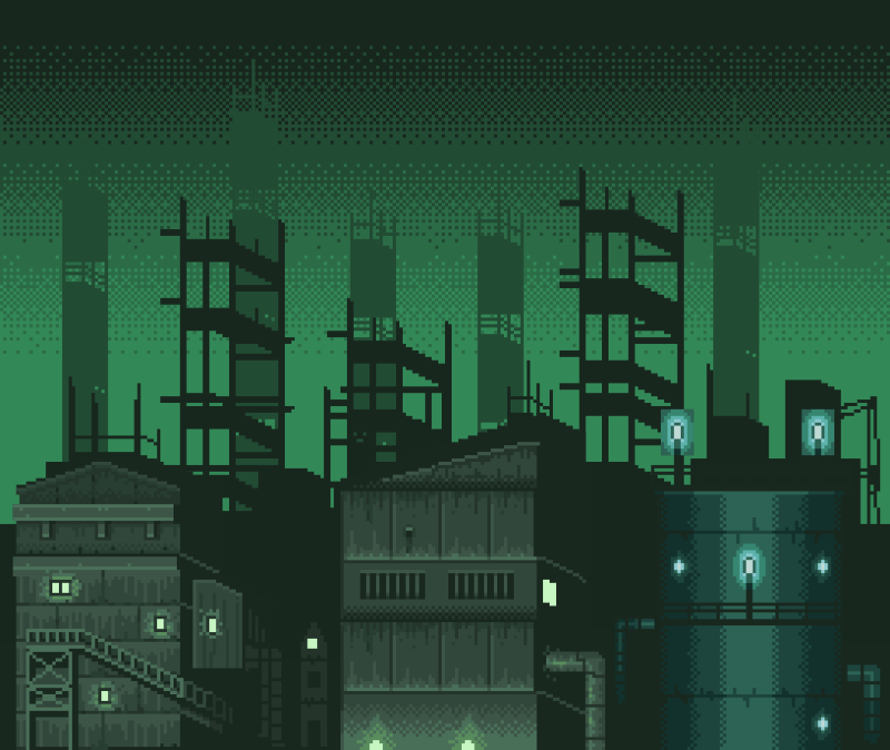 pixel city (animated) 3