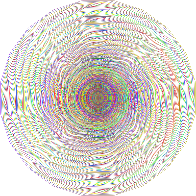 Polygonal Polyprismatic Vortex No BG