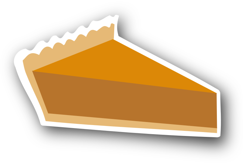Pumpkin Pie Sticker