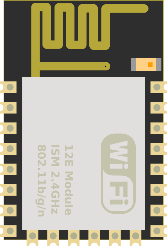 ESP-12E like WiFi Module