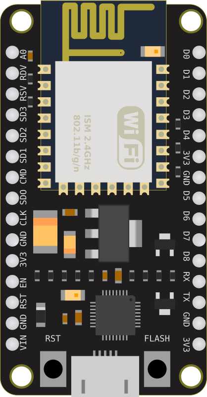 ESP-12E based development board