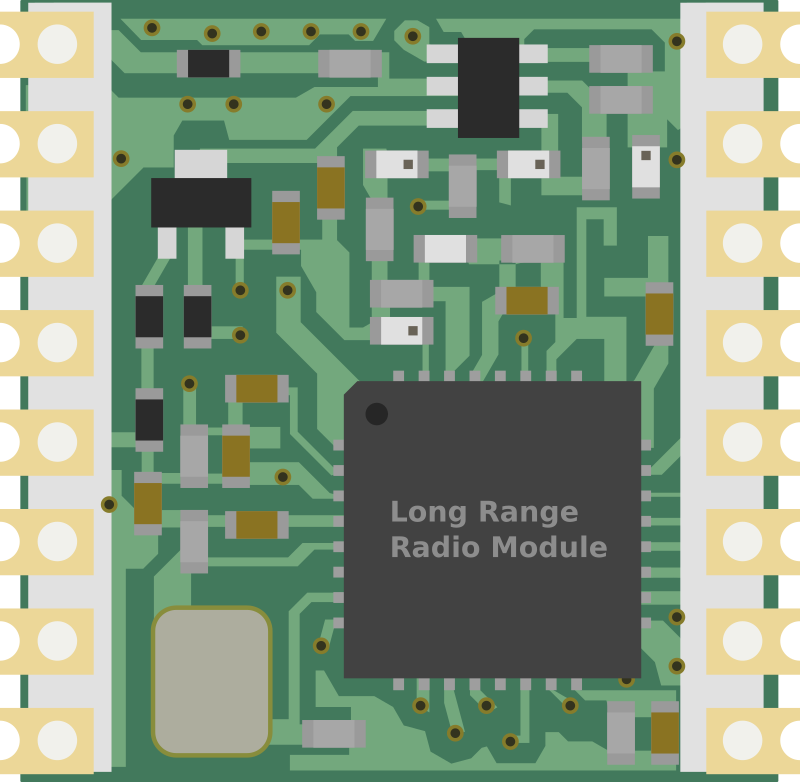 Long Range Radio Transceiver Module