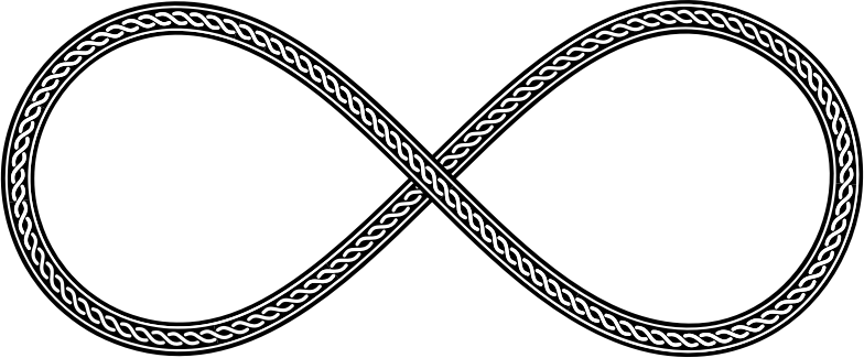 Decorative Chain Infinity Symbol