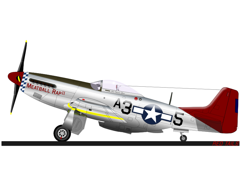 P-51D RED TAILS