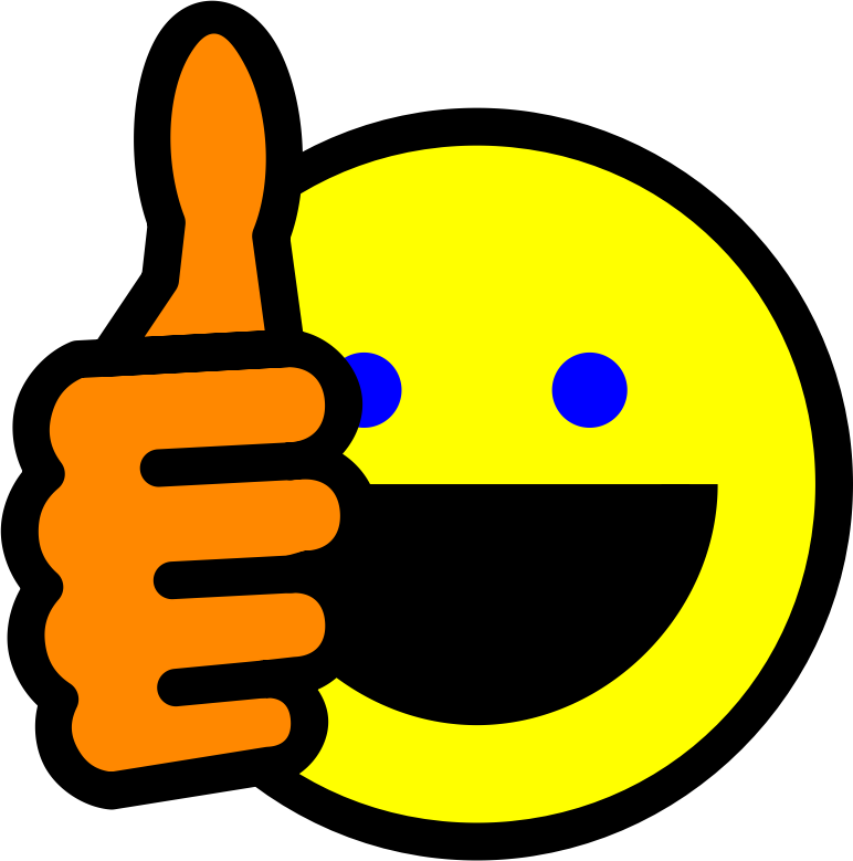 Remix of Thumbs up smiley