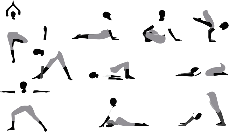 Yoga Poses By Potamuz