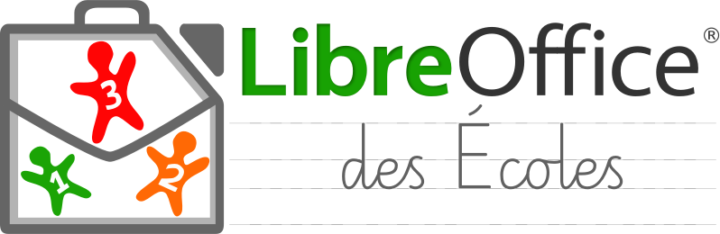 "Logo of ""Libre Office des écoles"""