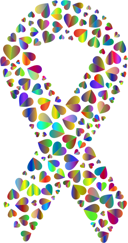 Polyprismatic Hearts Ribbon 2
