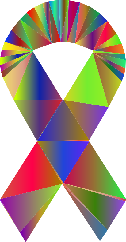 Low Poly Ribbon Polyprismatic