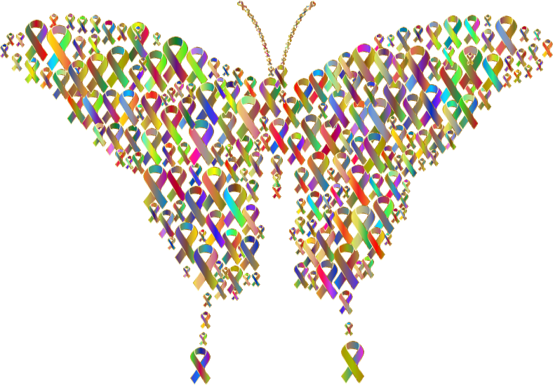 Polyprismatic Ribbons Butterfly