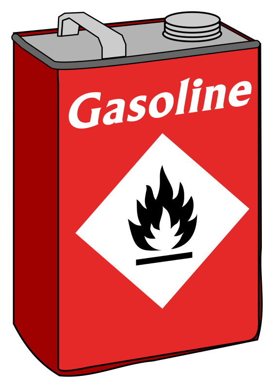 Gasoline / petrol / fuel can