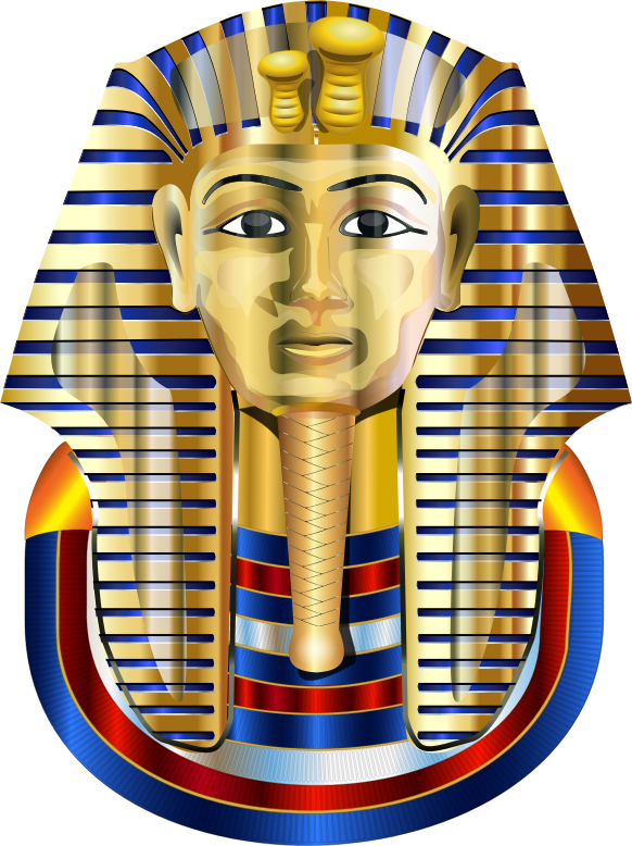 Golden Mask Tutankhamun Variation 2