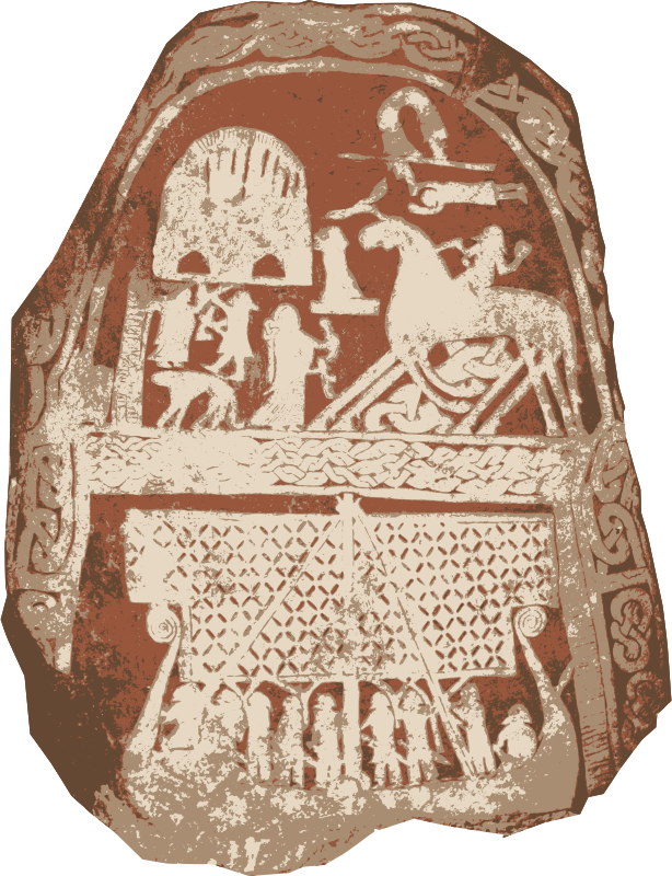 Viking Picture Stone