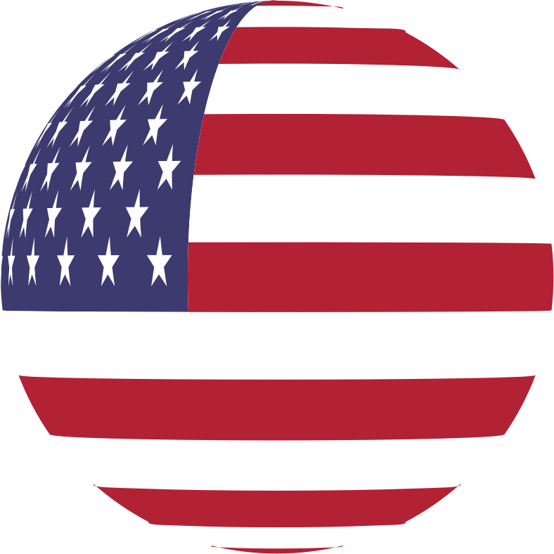 United States Of America Flag Sphere