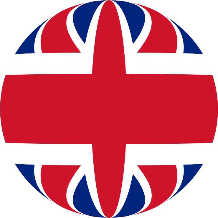United Kingdom Flag Sphere