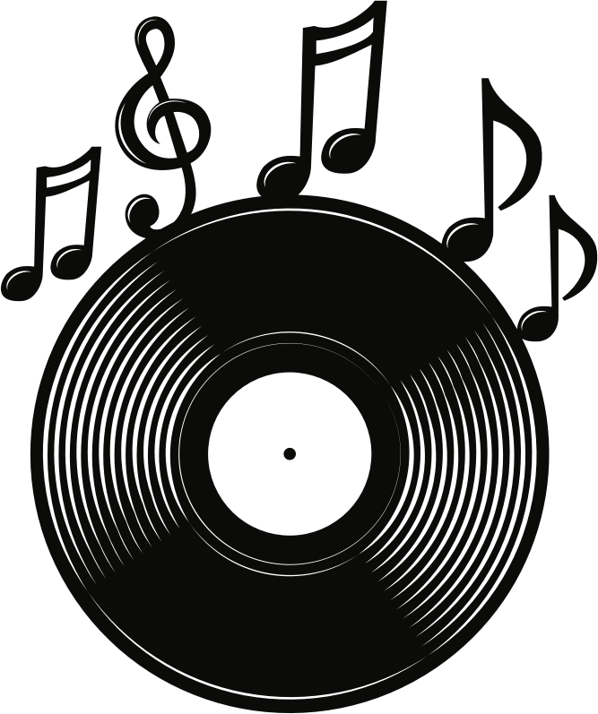 Record with Notes Logo
