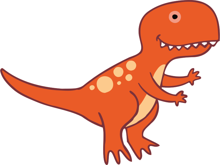 Dinosaur 3 T-Rex with Feet
