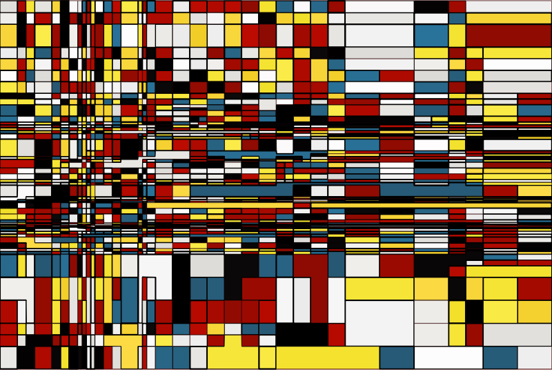 Mondrian Background