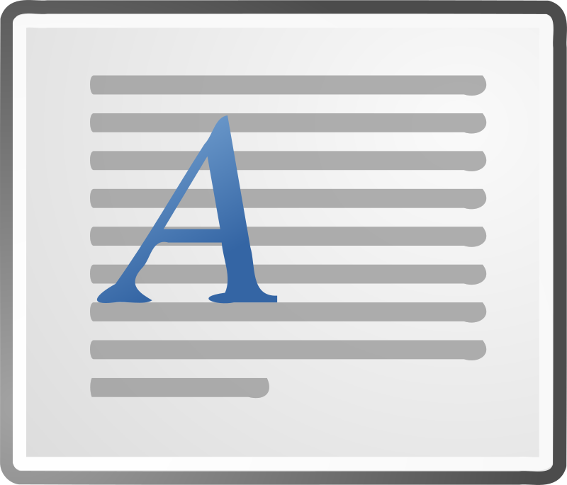 Horizontal Printer Document Icon
