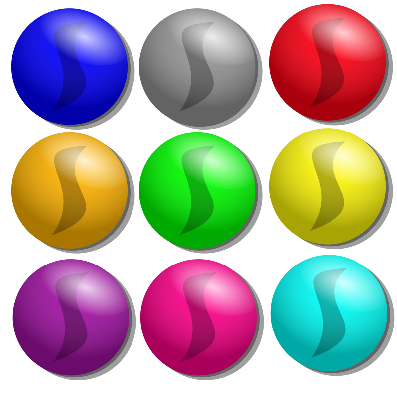 Game marbles - dots