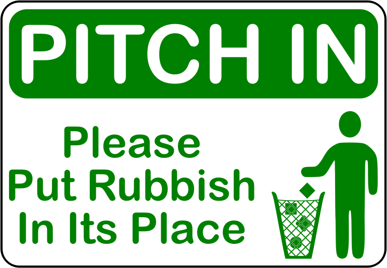 Pitch In (A4 size)
