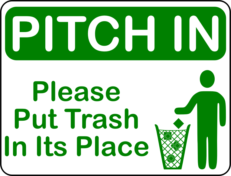 Pitch In (US size)