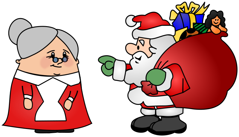 Mrs and Mr Claus