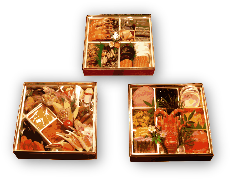 Osechi New Year Food