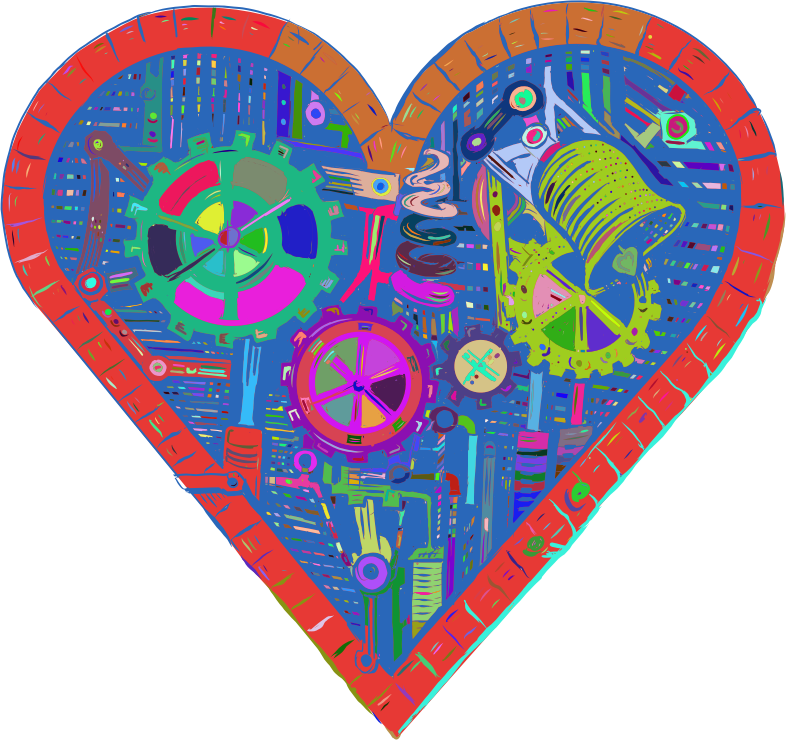 Mechanical Heart By LUCASGREY Prismatic