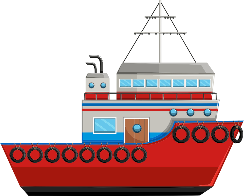 Cartoon Ship By kreatikar